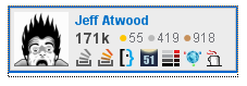 jeff atwood badge